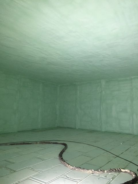 Fresh Spray Foam Waterproof Basement