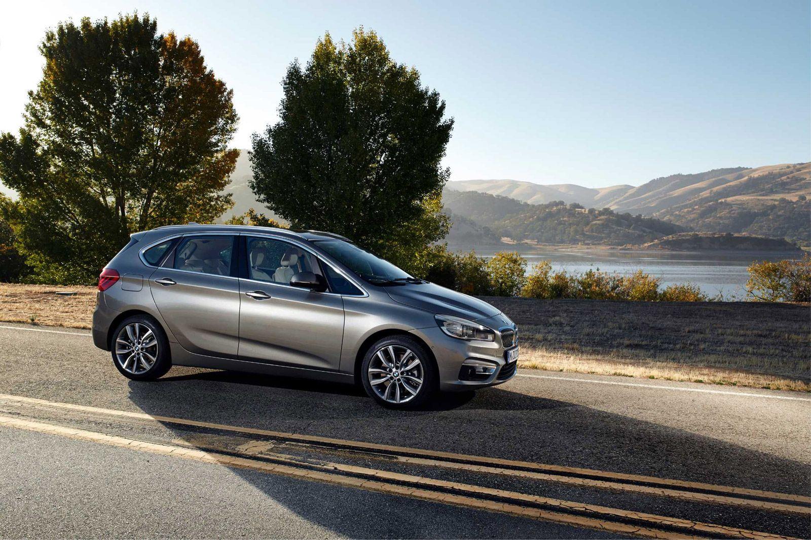 2014 BMW 2-Series Active Tourer Revealed: Video