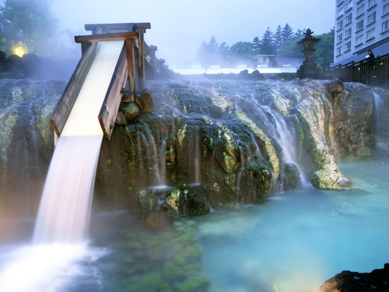 Each Year Nearly 3 Million Visitors Take In The Waters At Kusatsu Onsen