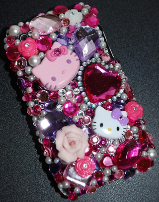 competitive price 047d7 4fe98 Bedazzled Stuff | Hello kitty cell phone case | Cell Phone Cases ...