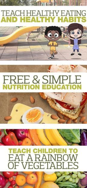 Healthy Eating Habits for Kids #kidsnutrition
