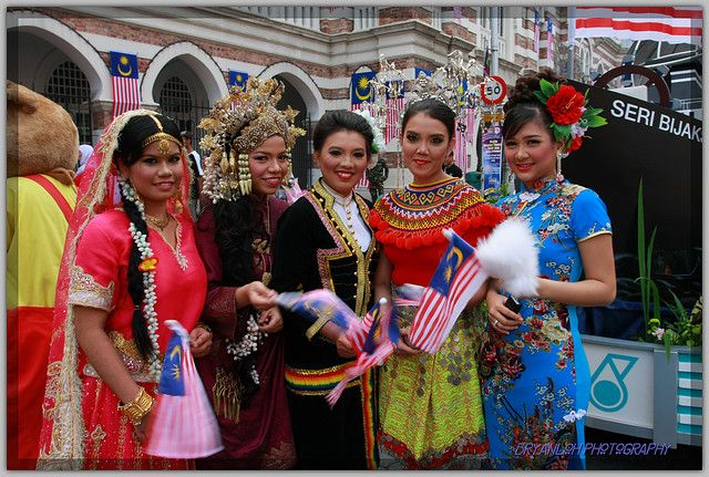 Search People of various cultures  malaysian consists of many different of ethnics who live
