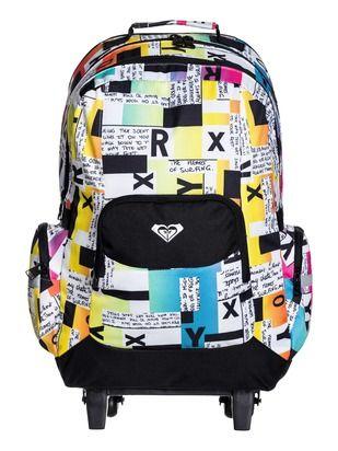 Roxy Girl Gls Free Spirit Roller Backpack | Kid Stuff | Pinterest