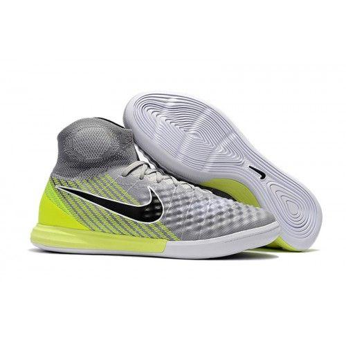 best service c8de7 41ec8 Nike MagistaX Proximo II IC Inomhus Fotbollsskor Grey Gron