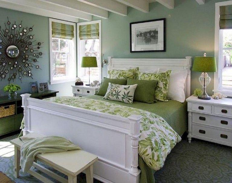37 Comfy Small Master Bedroom Ideas Green Bedroom Design Bedroom Green Comfortable Bedroom