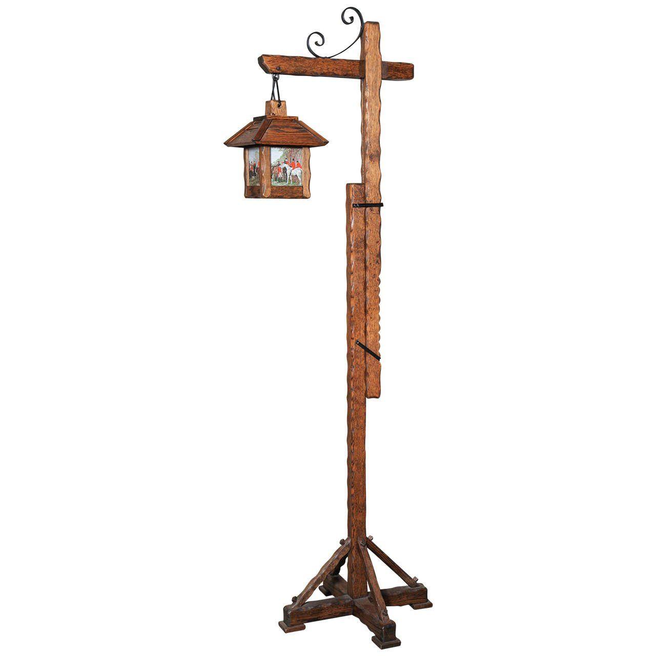 Arts and craft oak floor lamp pinterest floor lamp craftsman arts and craft oak floor lamp aloadofball Image collections