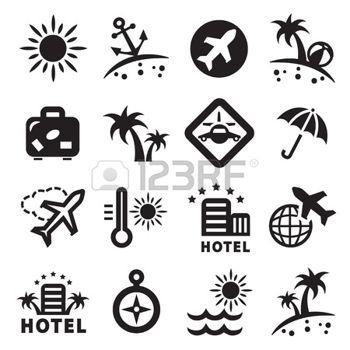 Pictogramme Transport Banque D Images Vecteurs Et Illustrations Libres De Droits Icone Voyage Pictogramme Carnets De Voyage