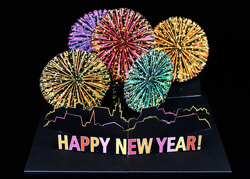 New Year Wishes Greeting Cards 2020 | New year wishes, Pop ...