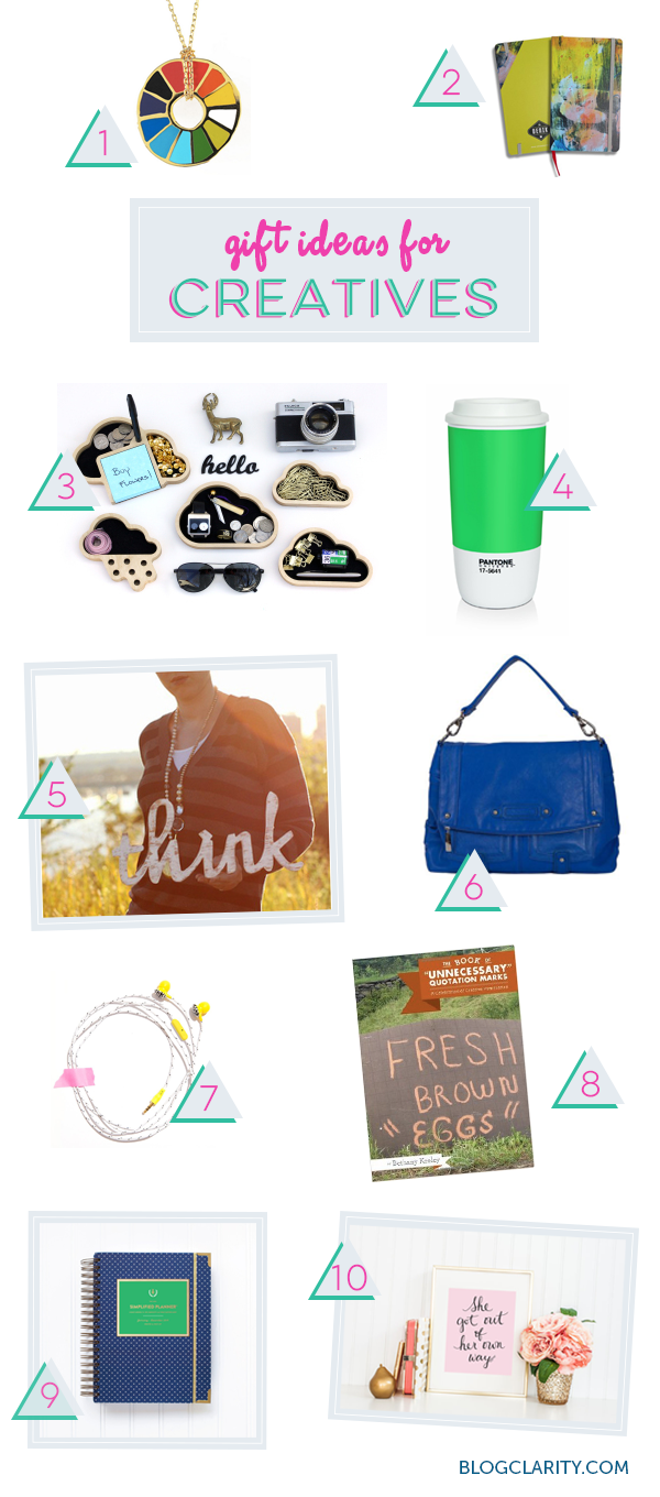 Gift Ideas For Creative People Blog Clarity Gifts Holiday Gift Guide Creative Gifts