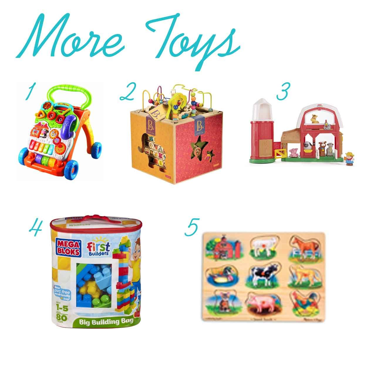 The Ultimate List of Gift Ideas for One Year Olds www.thepinningmama ...