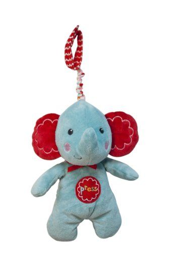 Amazon Fisher Price Press Light Up Plush Toy Elephant Baby