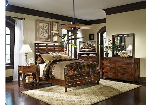 picture of Panama Jack Eco Jack 5 Pc King Bedroom from King Bedroom