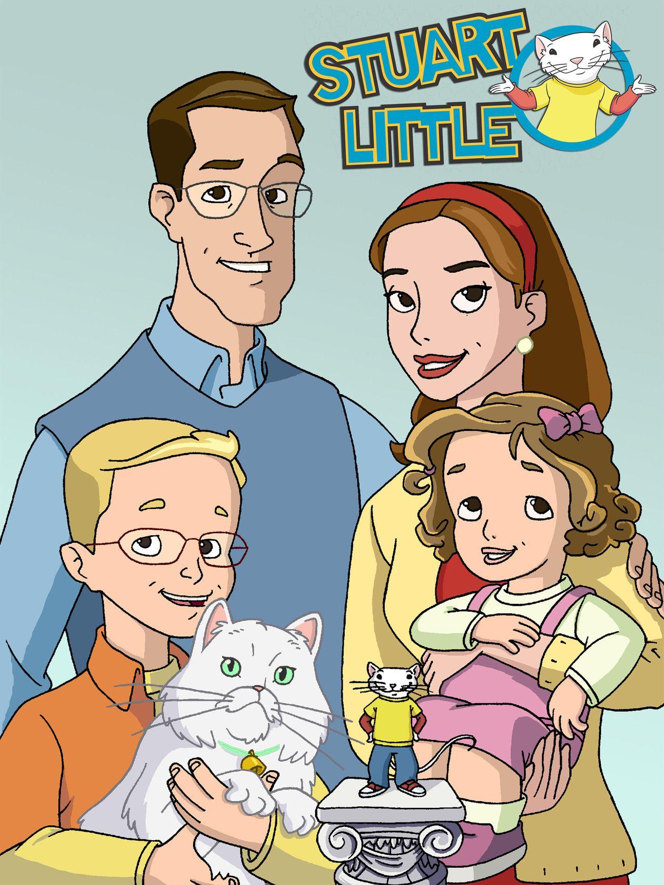 Stuart Little Tv Show News Videos Full Episodes And More Stuart Little Character Design Couple Illustration