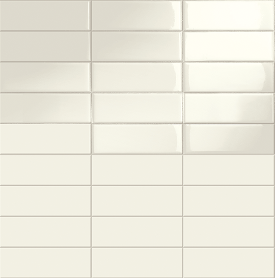 StonePeak Ceramics | Shadows Collection | White Glossy