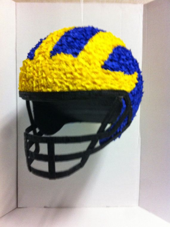Piñatas~Football helmet pinata by PinataVille on Etsy