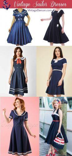 50++ Sailor dress woman info
