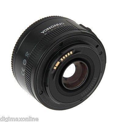 YONGNUO 50mm F1 8 Prime Lens for Canon 600D,700D,750D,760D