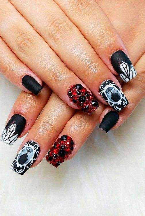 51 Cool Ideas Of Halloween Nail Art Designs | Halloween ...