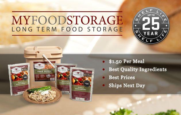 MyFoodStorage providing affordable Long Term Food Storage with a 25 year shelf life u003eu003e Food  sc 1 st  Pinterest & MyFoodStorage providing affordable Long Term Food Storage with a 25 ...