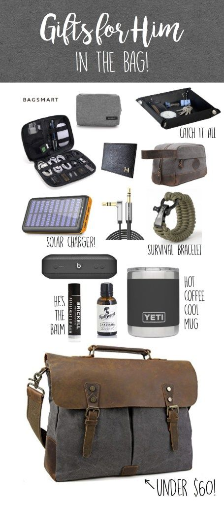 Gifts For Him In The Bag Gift Ideas For Him Valentines