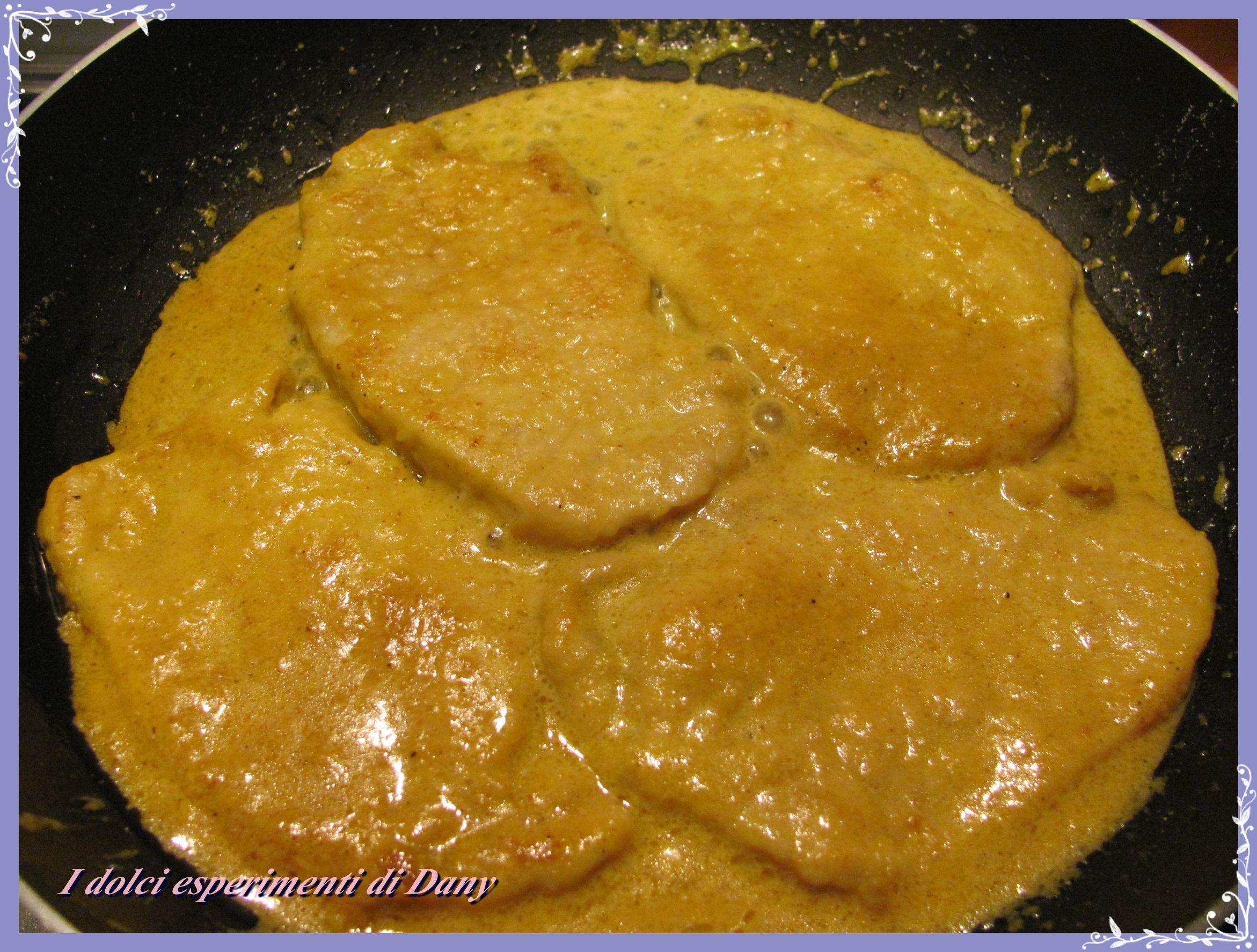 Fettine Di Lonza Al Curry I Dolci Esperimenti Di Dany Ricette Curry Cibo Squisito