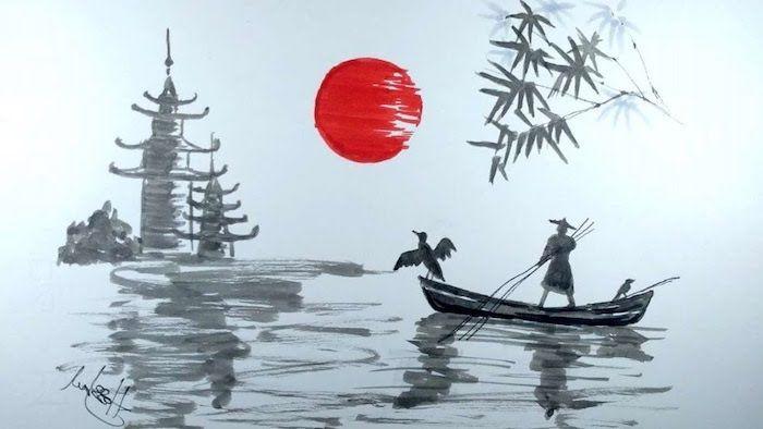1001 + ideas de dibujos japoneses fáciles y encantadores ...