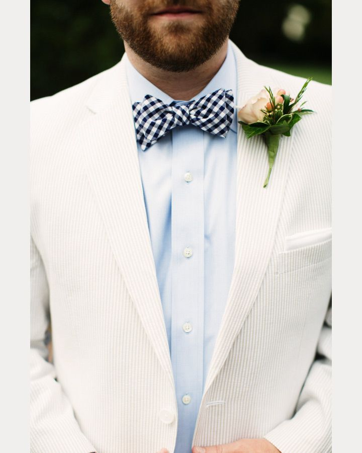 White Suits for the Groom | Grooms, Groom style and Boutonnieres