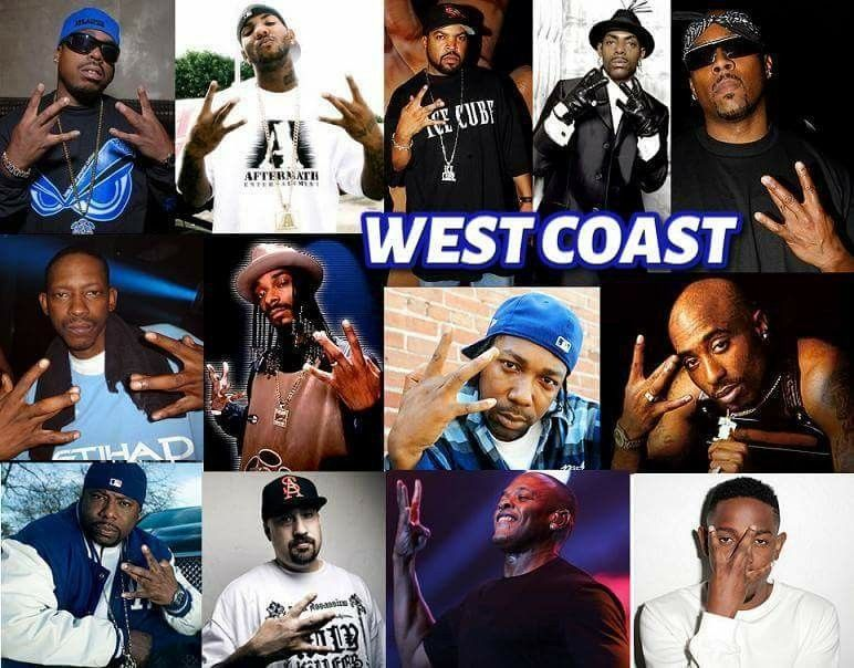 West Coast Hiphop | Rap's Most Wanted | 90s hip hop artists