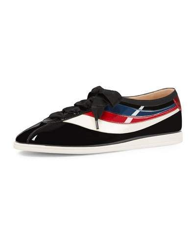 db8be8d88fa GUCCI FALACER PATENT BOWLER.  gucci  shoes