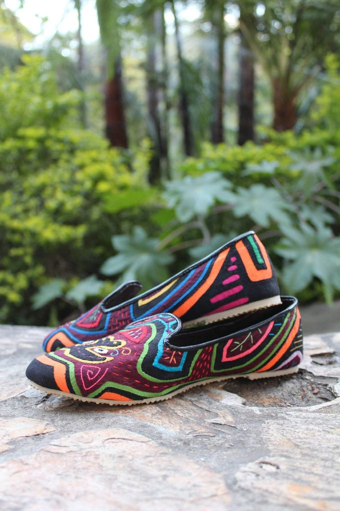 Current obsession: Teysha colorful handmade flats - woven by artisans in  Panama and Colombia,