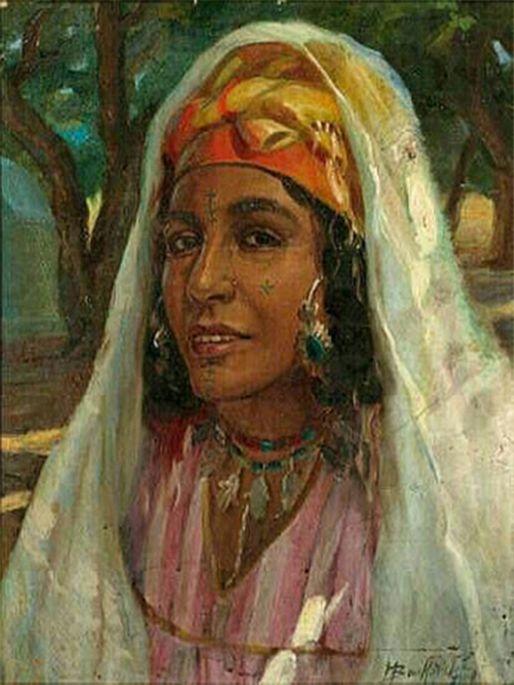Peinture d 39 alg rie peintre alg rien miloud boukerche - Peinture satinee algerie ...