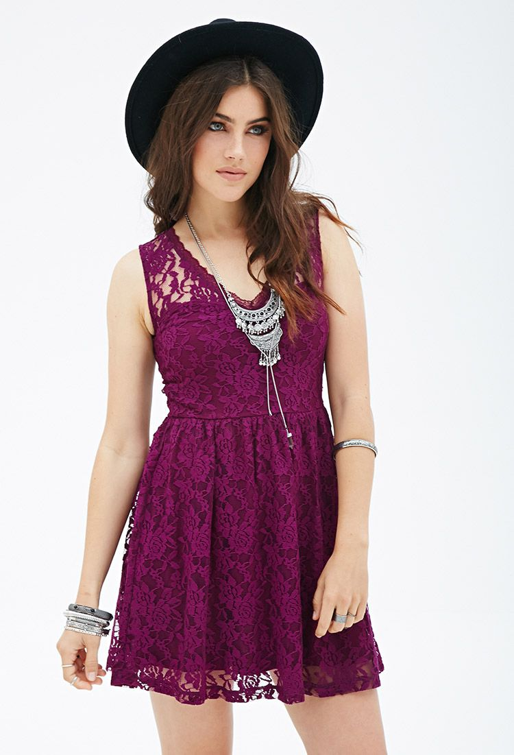 Fit flare lace dress forever 21 canada lace dress