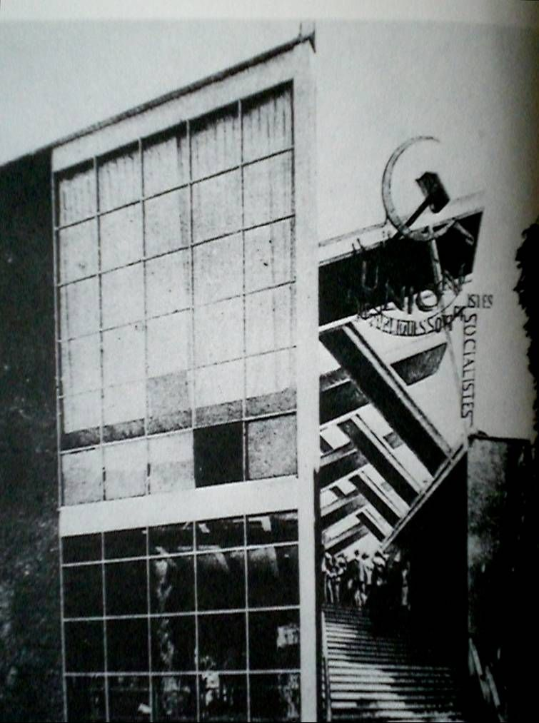 Melnikov pavillon de l urss l exposition internationale for Architecture urss