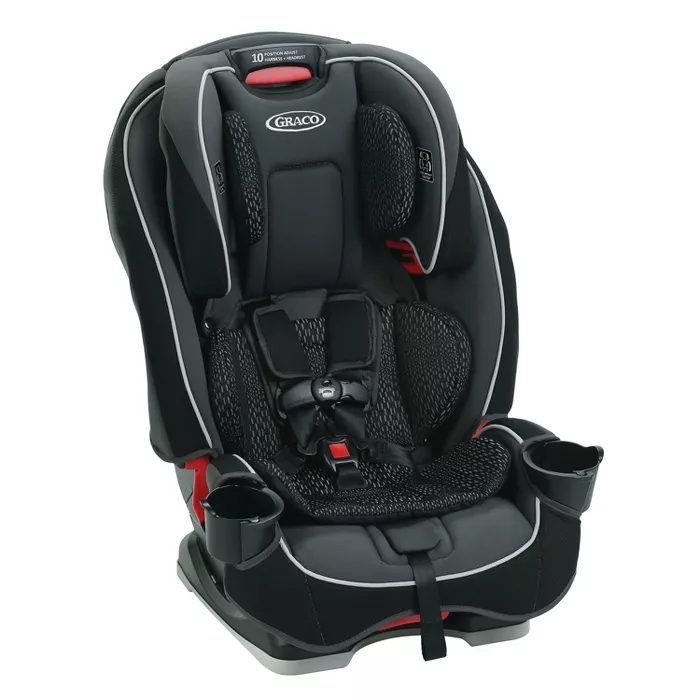 Graco Slim Fit 3in1 Convertible Car Seat Camelot (With