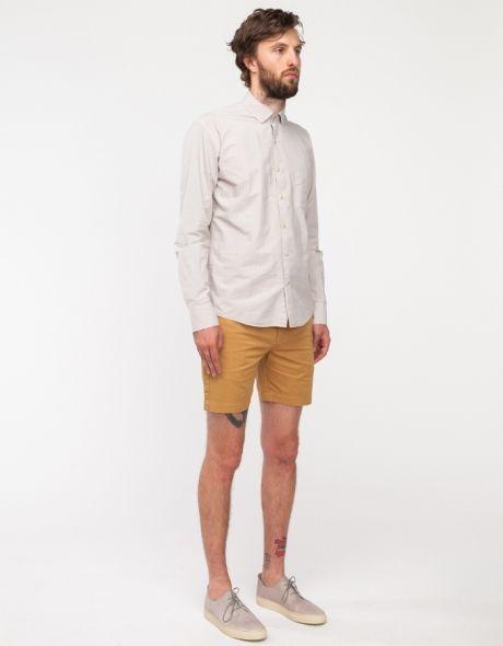 Sun Washed Shorts in Khaki
