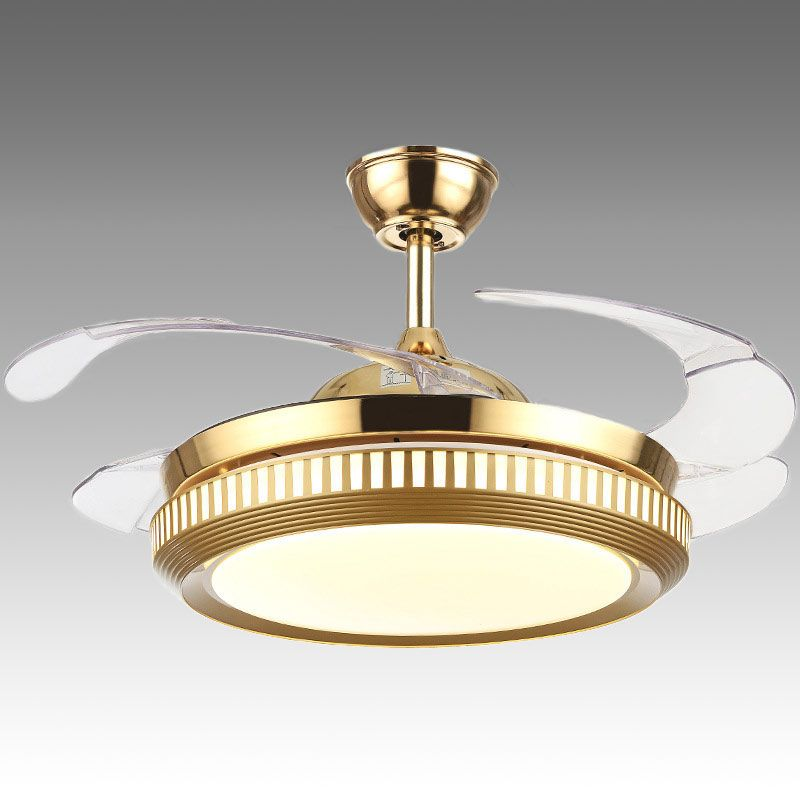 Modern Ceiling Fan Light Mute Fan Light Exquisite Decoration Light