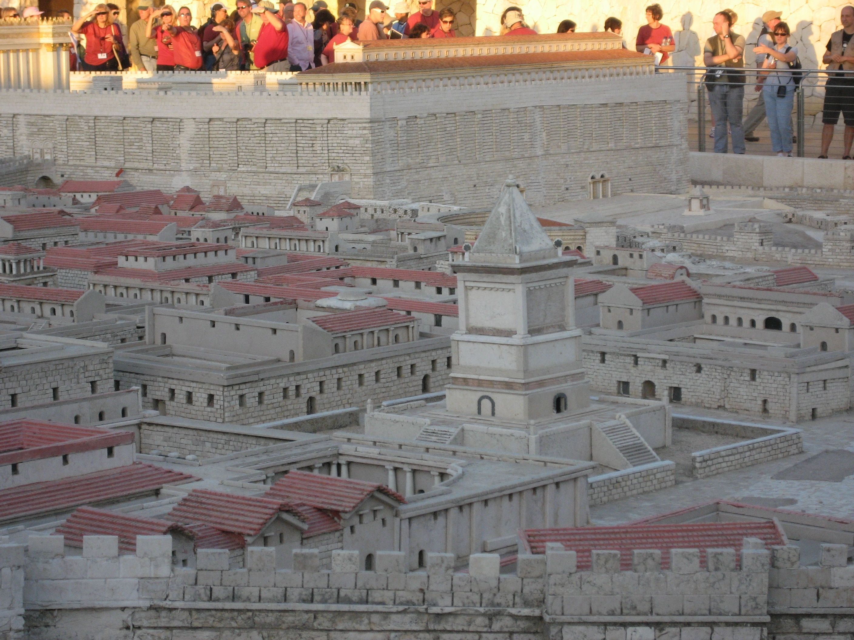 Model of Jerusalem in Jesus' day