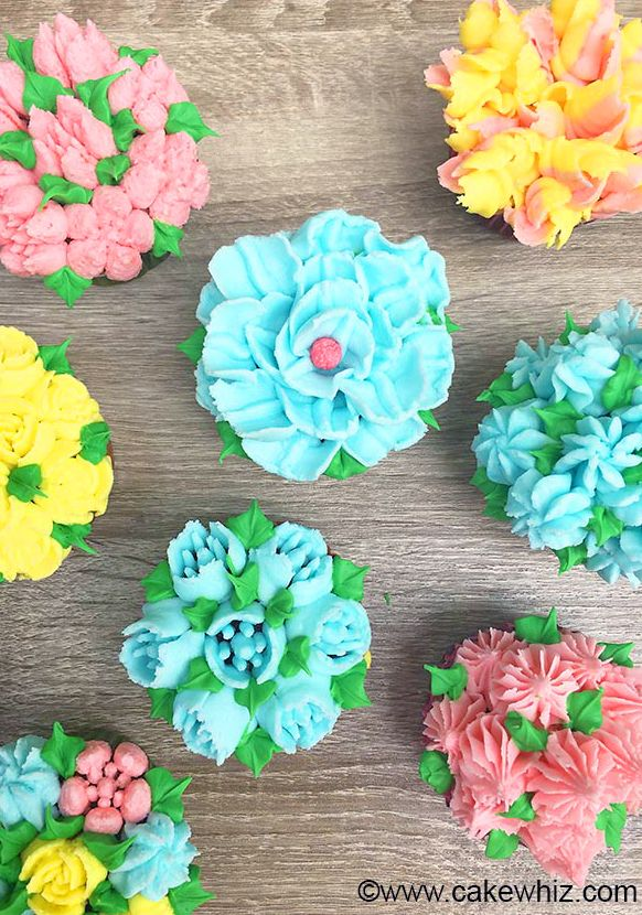 Learn how to make beautiful buttercream frosting FLOWER ...
