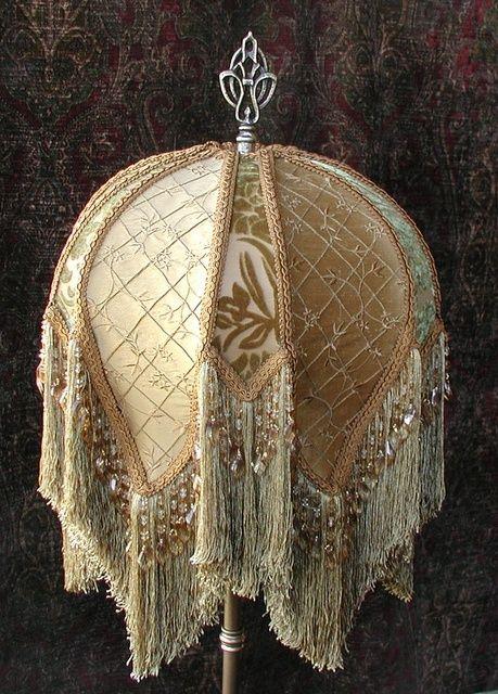 victorian lamp shades | Visit vintageshades.com