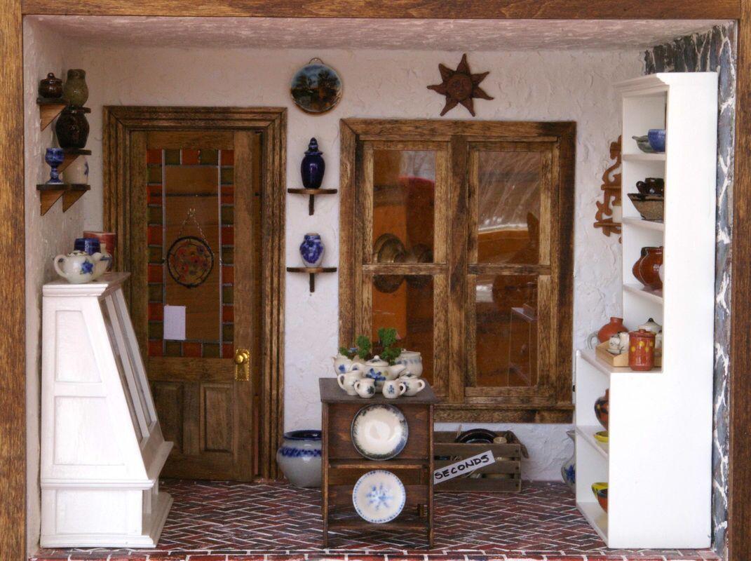 Miniature Pottery shop by Joann. Her pottery is fantastic, follow link.