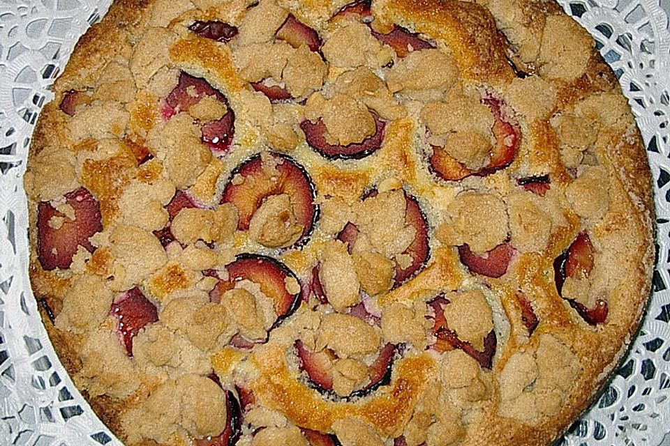 Laras Zwetschgen - Tassenkuchen mit Eierlikörteig von Lari | Chefkoch