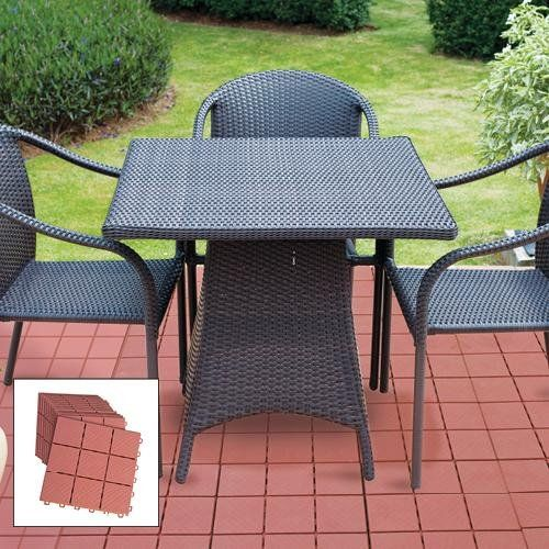 Amazon Com 12 Piece Patio Walkway Pavers 12 X 12 Set Patio Lawn Garden Outdoor Patio Furniture Sets Paver Patio Outdoor Patio Decor