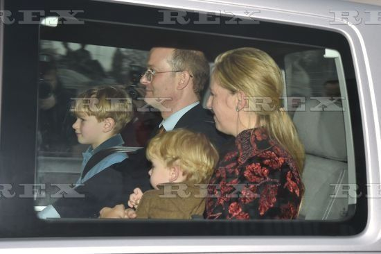 Lord Nicholas, Lady Paola and sons Leopold and Louis
