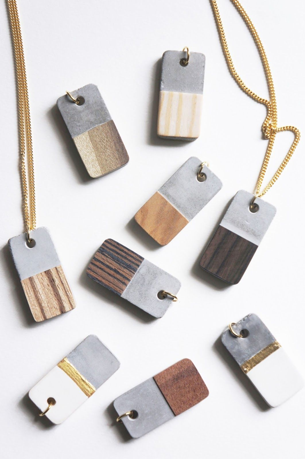 Diy concrete and wood veneer necklace tutorial from tinker paint diy concrete and wood veneer necklace tutorial from tinker paint bake cakeske these modern mozeypictures Choice Image