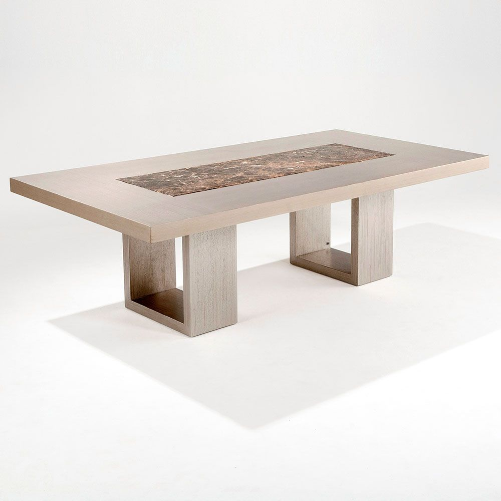 Comedor comedores 2 bases rectangulares mesas de for Modelos de mesas de comedor