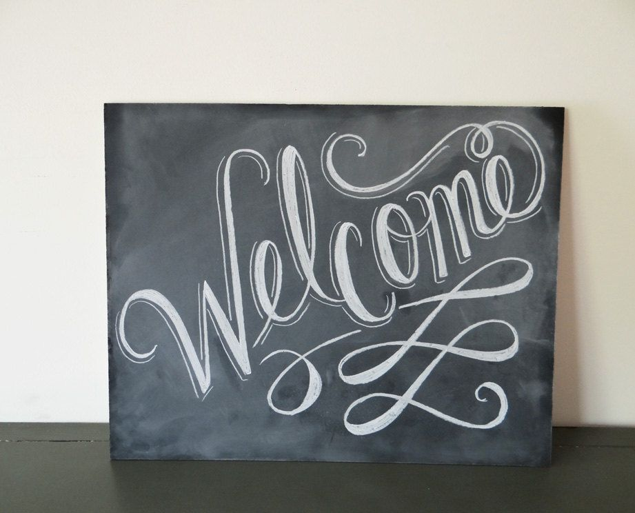 best 25  welcome chalkboard ideas on pinterest