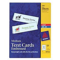 Design And Print Professional Looking Tent Cards On Premium
