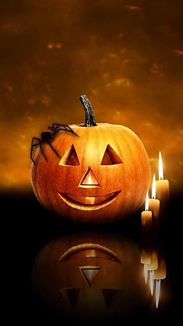 This Wallpaper Is Shared To You Via Zedge Halloween Wallpaper Halloween Pumpkins Halloween Pictures