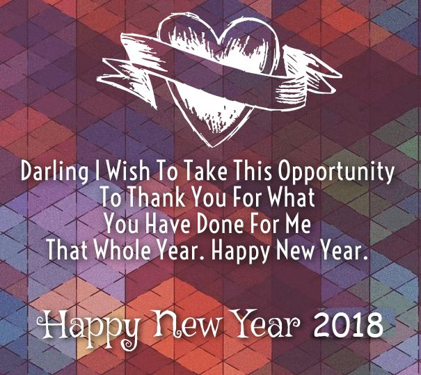 happy new year romantic saying quotes 2018