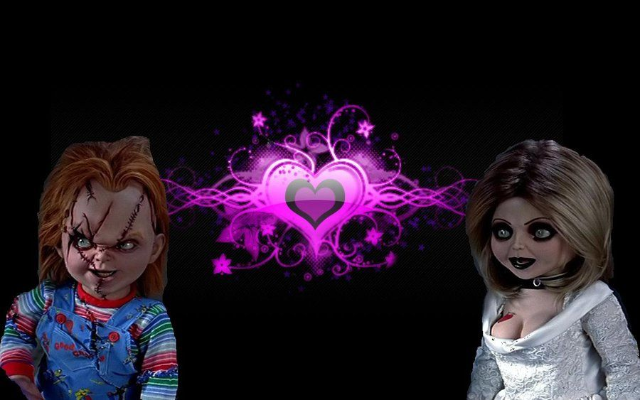 Novia de chucky wallpaper cuadros wallpapers pinterest novia de chucky wallpaper cuadros voltagebd Choice Image